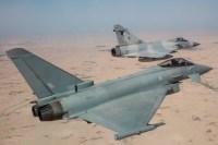 ニュース画像:イギリス空軍、カタール空軍とドーハで共同訓練 タイフーン導入を前に