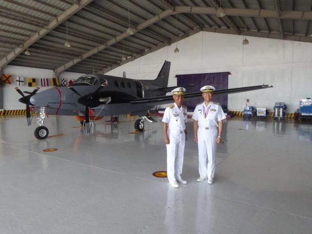 ニュース画像 1枚目:フィリピン海軍塗装が施されたTC-90