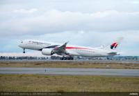 ニュース画像:マレーシア航空、初のA350-900を受領 1月からロンドン線に投入へ