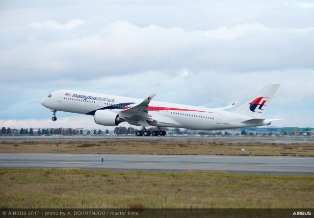 ニュース画像 1枚目:マレーシア航空、A350-900