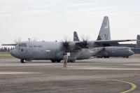 ニュース画像 1枚目:横田基地でのC-130J