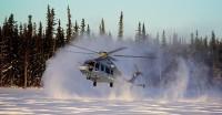 ニュース画像:エアバス・ヘリコプターズ、イエローナイフでEC175の耐寒試験【動画】