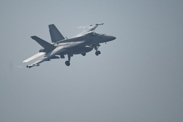 ニュース画像 1枚目:VAQ-141のEA-18Gグラウラー