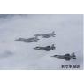 ニュース画像 2枚目:航空自衛隊F-15とアメリカ空軍F-35A