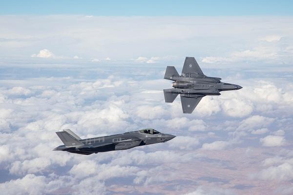イスラエル空軍、F-35Iアディー...