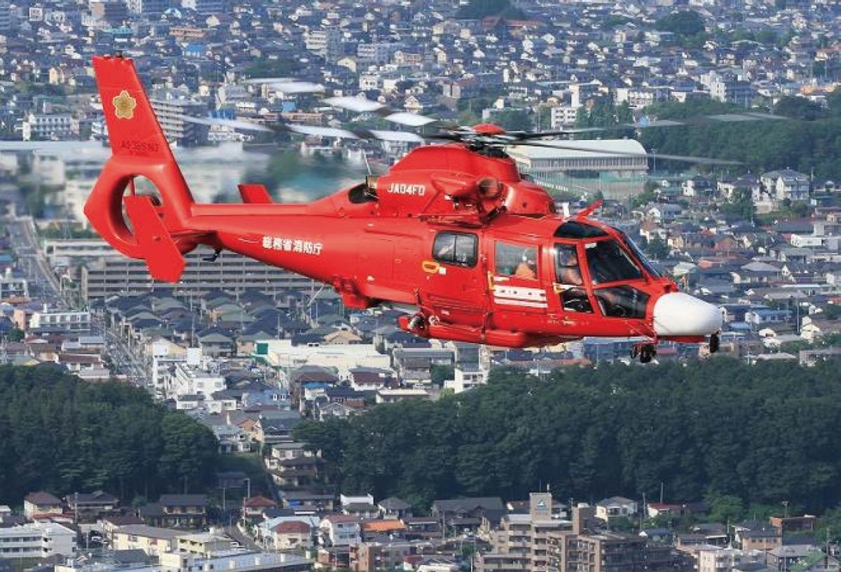 ニュース画像 1枚目:消防庁ヘリコプター4号機「みやぎ」