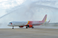 ニュース画像:ベトジェットエア、東南アジアの航空会社初のA321neoを受領