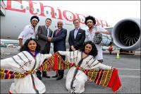ニュース画像:エチオピア航空、定期便就航を前に787でダブリンへ運航