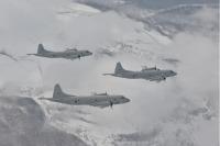 ニュース画像:海自第2航空群、1月5日に初訓練を実施 八甲田山上空などを編隊飛行