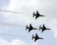 ニュース画像 1枚目:アメリカ空軍 サンダーバーズ イメージ