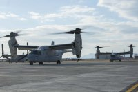 ニュース画像:普天間基地のMV-22B、機体整備で厚木飛行場に飛来予定 2月12日以降