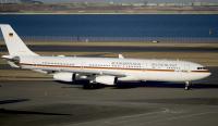 ニュース画像:シュタインマイヤー・ドイツ大統領の初来日でA340-300が羽田に飛来