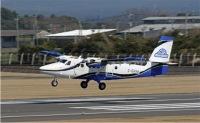 ニュース画像 1枚目:第一航空向け DHC-6-400ツインオッター ブルー塗装