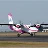 ニュース画像 2枚目:第一航空向け DHC-6-400ツインオッター ピンク塗装