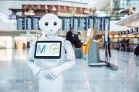 ニュース画像:ルフトハンザとミュンヘン空港、ドイツ発の人型ロボット「ジョシー」導入