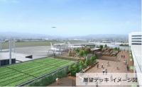 ニュース画像 1枚目:伊丹空港 屋上エリア