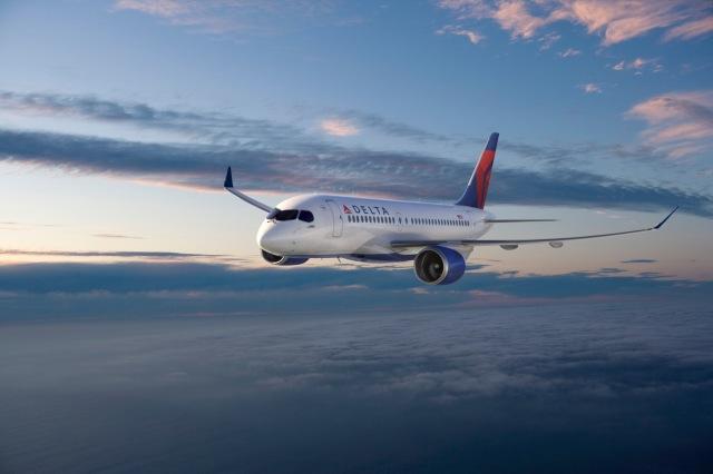 ニュース画像 1枚目:デルタ航空 CS100 イメージ