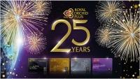 ニュース画像:ロイヤルオーキッドプラス、5月と6月搭乗でボーナスマイル 25周年記念