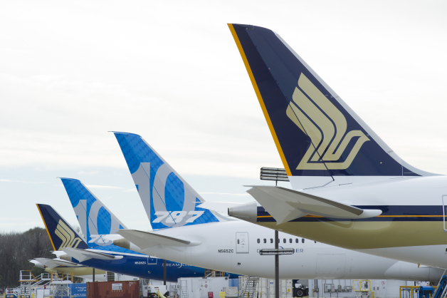 ニュース画像 3枚目:日本各地の空港に就航するシンガポール航空の便が787-10に更新される予定