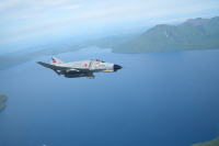 ニュース画像:防衛大学校、空自F-4とC-1が4月5日の入校式典に参加 予行も開始
