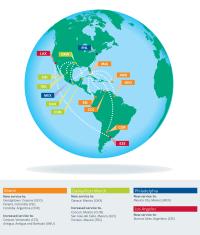 ニュース画像:アメリカン航空、冬からメキシコ、南米線を拡大 計5路線に新規就航