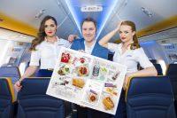 ニュース画像:ライアンエア、機内食に新メニュー ハイネケンのノンアルコールビールなど
