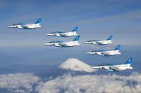 ニュース画像:ブルーインパルス、17箇所での展示飛行を発表 記念行事は7箇所
