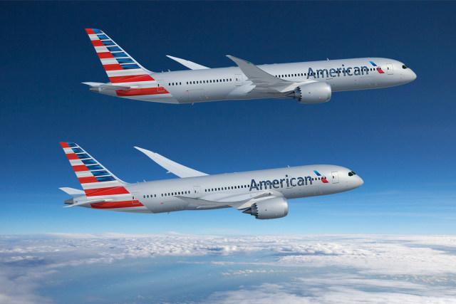 ニュース画像 1枚目:アメリカン航空の787 2機種
