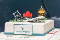 ニュース画像 2枚目:就航を祝うケーキ
