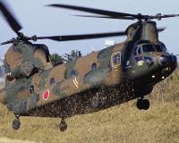 ニュース画像:高遊原分屯地、CH-47JAヘリコプター体験搭乗 参加者を募集