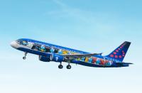 ニュース画像:ブリュッセル航空、5機目の特別塗装機「エアロスマーフ」がデビュー