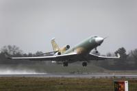 ニュース画像:ダッソー・ファルコン8X 2号機が初飛行