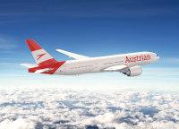 ニュース画像:オーストリア航空、ブランディング強化でロゴ変更 新塗装は5月から