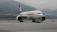 ニュース画像:オーストリア航空、新ロゴと60周年記念ロゴを描いた特別塗装機を公開