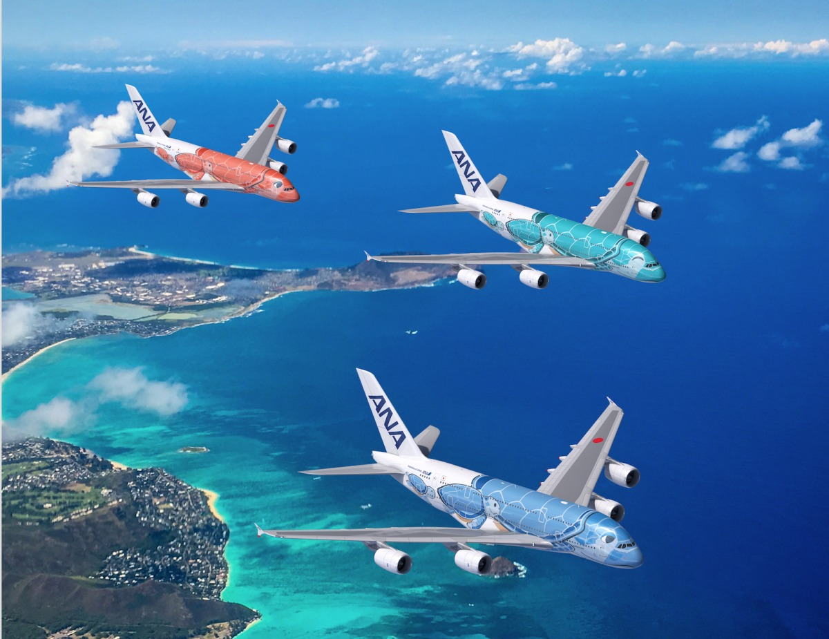 Ana A380機体デザイン 仕様を発表 19年にホノルル線導入 Flyteam ニュース
