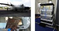 ニュース画像:千葉大学、CN-235で円偏波合成開口レーダの画像取得に成功 世界初