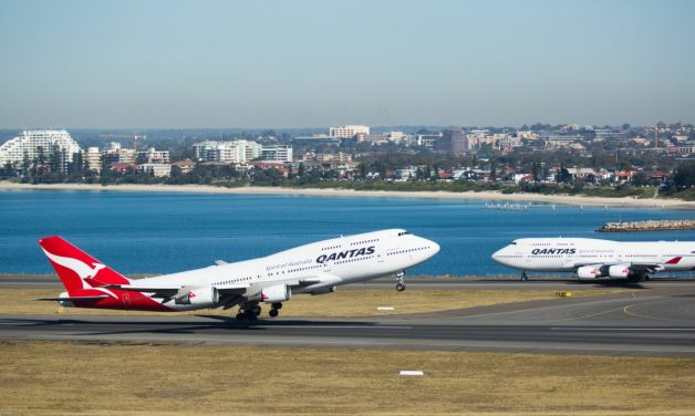 ニュース画像 1枚目:カンタス航空 747-400