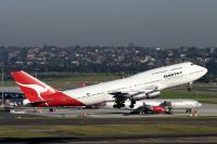 ニュース画像 2枚目:カンタス航空 747-300