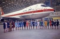 ニュース画像 5枚目:747初号機にカンタスのロゴも描かれている