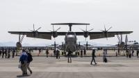 ニュース画像 3枚目:海上自衛隊の航空機も展示