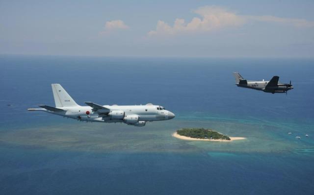 ニュース画像 1枚目:海自P-1とフィリピン海軍C-90