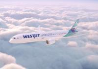 ニュース画像:ウェストジェット、787導入で新塗装を公開 初号機は737 MAXで