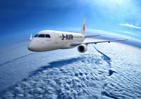 ニュース画像:ジェイ・エア、「JA228J」を新規登録 約2年半ぶりのE170新機材