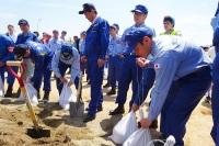 ニュース画像:福知山市、5月12日に「平成30年度由良川総合水防演習」を実施