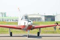 ニュース画像:下田黒船祭、静浜基地のT-7が記念式典前に展示飛行 5月19日