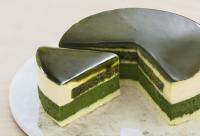 ニュース画像 1枚目:京都VENETOの「宇治抹茶生チーズケーキ ジェミニ」