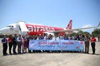 ニュース画像:エアアジア、クアラルンプール/ホアヒン線に就航 A320で週4便