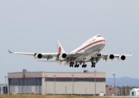 ニュース画像:政府専用機、首相のロシア訪問に伴い運航 5月24日から27日