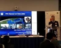 ニュース画像:空自、アメリカ国防大学で開催のシンポジウムに参加 基調講演など実施