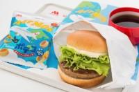 ニュース画像:JAL、6月から「AIR MOSクリームチーズテリヤキバーガー」提供